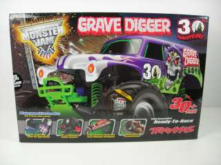 Traxxas 1/10 Monster Jam Grave Digger 30th Anniversary RTR # TRA3602X