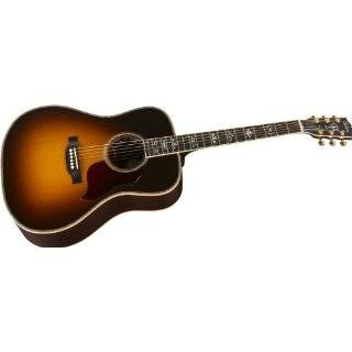 Songwriter Deluxe Custom EC Acoustic Electric Guitar, Vintage Sunburst