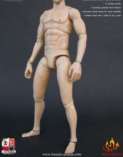 kaustic platik Realistik Male Muscle Body 1/6 Action Figure KP01A