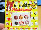 rilakkuma hello kitty home button stickers for iphone 4 4s