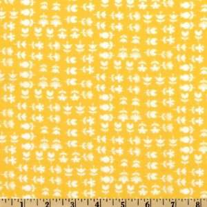 44 Wide Moda Hullabaloo Hoopla Yellow Fabric By The Yard