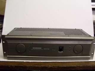 Samson Servo 500 Stereo Studio Power Amplifier Amp |