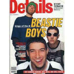 June 1994 (KINGS OF THE ILL  BEASTIE BOYS ) DETAILS MAGAZINE Books