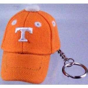 Tennessee Volunteers Orange Baseball Cap Key Chain