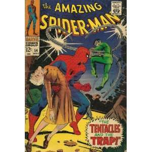 comic AMAZING SPIDER MAN #54 11/67 The Tentacles