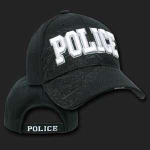POLICE SHADOW DESIGN HAT CAP LAW ENFORCEMENT CAPS