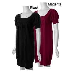 DBY Ltd. Womens Short sleeve Knit Sweater Dress