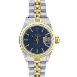 Pre owned Rolex 69173 Womens Datejust Two tone Gold Watch