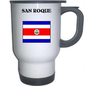Costa Rica   SAN ROQUE White Stainless Steel Mug
