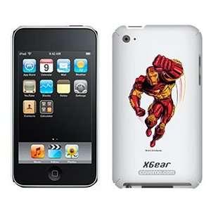 Iron Man Punching on iPod Touch 4G XGear Shell Case