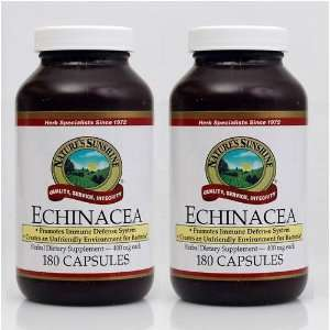 Echinacea Purpurea Supports Immune System Herbal Food Supplement