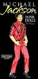 Michael Jackson Paper Dolls Commemorative Edition 1958 2009 by Tom
