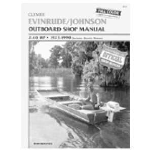 Do It Yourself Marine Manuals   Evinrude/Johnson (Type E/J 2 40 HP, O