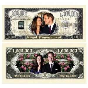 Prince William & Kate Middleton Royal Dollar (50/$14.99
