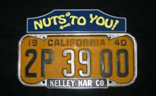 NEW SET of 4 License Plate Tag Toppers Rat Hot Rod FORD