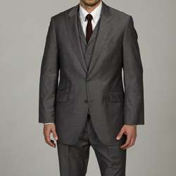 English Laundry Mens Vested Grey 2 button Suit
