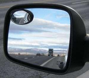 CAR TRUCK SUV BLIND SPOT MIRRORS 2.3 x 1.3 Peel&Stick 013964372847