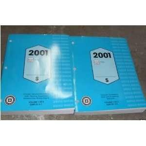 2001 Chevrole Chevy Geo Prizm Service Shop Manual Se (2