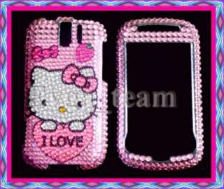 Hello kitty Bling Case Cover For HTC myTouch 3G Slide @