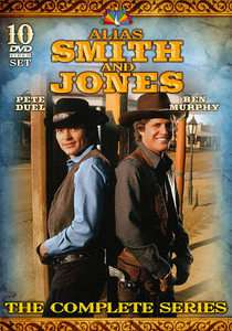 Alias Smith and Jones The Complete Series DVD, 2010, 10 Disc Set