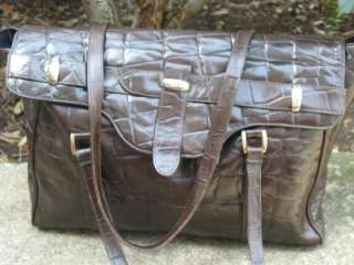 Clifford & Wills Used Brown Leather Handbag Tote Bag