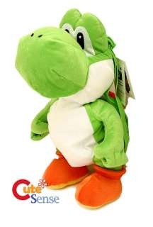 Nintendo Super Mario Green Yoshi Plush Bag/Backpack 19