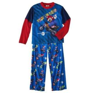 SUPER MARIO BROTHERS Boys 6 7 8 10 12 Pjs Set PAJAMAS Shirt Pants