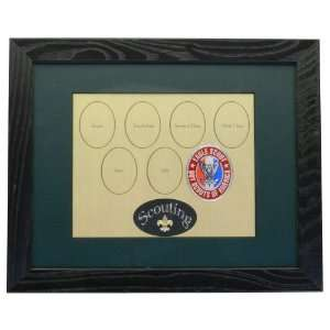 Frame for Display of Boy Scout Rank Advancement (Authentic Scouting