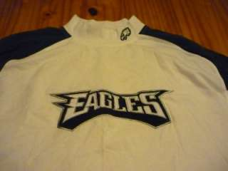 Philadelphia Eagles long sleeve mock turtleneck shirt size XXL 2XL