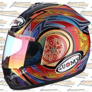 Suomy Spec 1R Extreme Cathedral Full Face Helmet Large