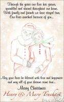 Custom Christmas Santa and Mrs. Claus Greeting Cards