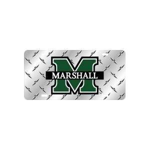 Plate   LASER COLOR FROST MARSHALL M LOGO+DIAMOND Sports & Outdoors