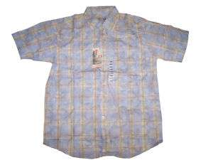 Quiksilver Edition Mens Light Blue ButtonUp Shirt NWT æ