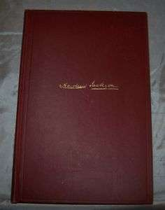 BOOK ~ ANDREW JACKSON, THE BORDER CAPTAIN, FE 1933