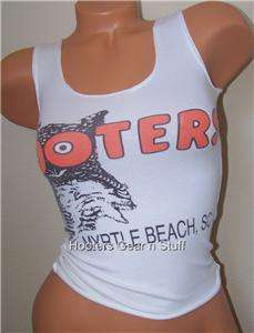 HOOTERS TANK 100% AUTHENTIC TANK WORN BY A REAL SEXY HOOTERS GIRL