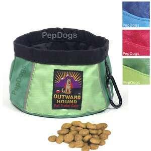 KYJEN Pet Dog Portable COLLAPSIBLE Camping TRAVEL BOWL