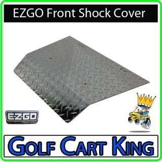 NEW EZGO TXT Golf Cart Diamond Plate Front Shock Cover |