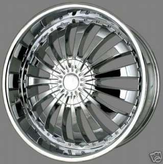 24 INCH V380 RIMS ONLY CHEVELLE BOX CHEVY CUTLASS