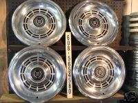FORD MERCURY COUGAR LTD HUBCAPS HUB CAPS WHEEL COVERS