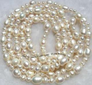 Beautiful White Freshwater Pearl Necklace