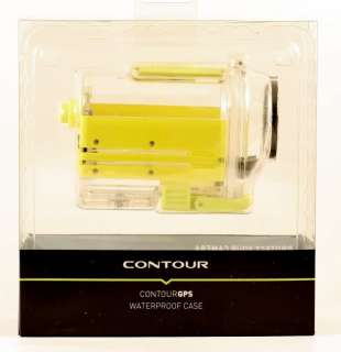 Contour GPS Yellow Waterproof Case for Contour GPS NEW