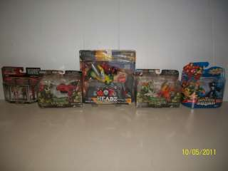 MARVEL SUPER HERO SQUAD, NINJA MINI MUTANTS, ULTIMATE MICRO FIGHTERS