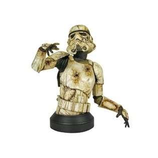Gentle Giant Studios Star Wars Death Trooper Mini Bust with Novel