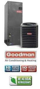 Ton 14 Seer Goodman Heat Pump System   GSZ130421   AVPTC42601