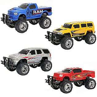 16 RC Vehicle Hummer/Escape/Ford/Dodge  New Bright Toys & Games