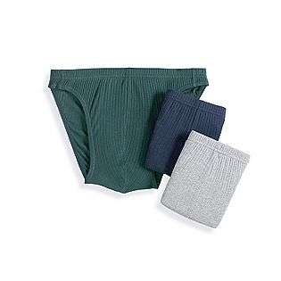 Ribbed Sport Brief (3 pack)  Covington Clothing Mens Underwear