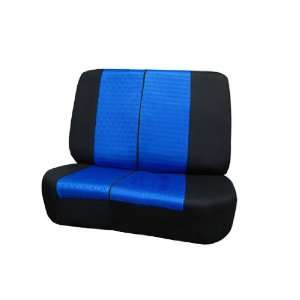 FH FB060R010 Jeep Wrangler Sandwich Fabric Bench Seat Covers Blue