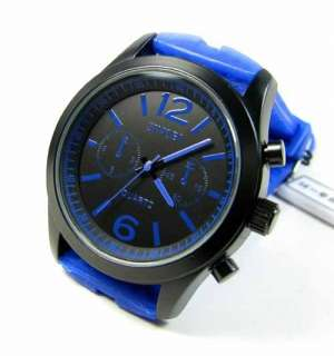 Sport Watches Black Blue Red Yellow Colors Wrist Watch Quartz