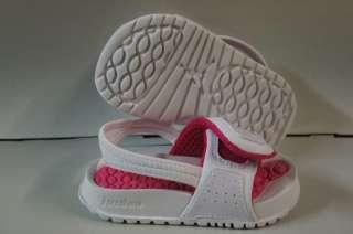Nike Air Jordan Hydro II White Vivid Pink Sandals Infant Toddler Size