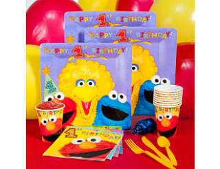 Sesame Street First Birthday   ShindigZ